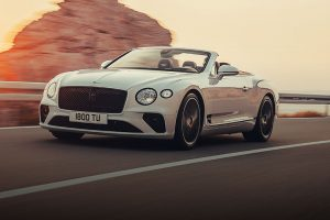 Bentley Continental GT Convertible feature