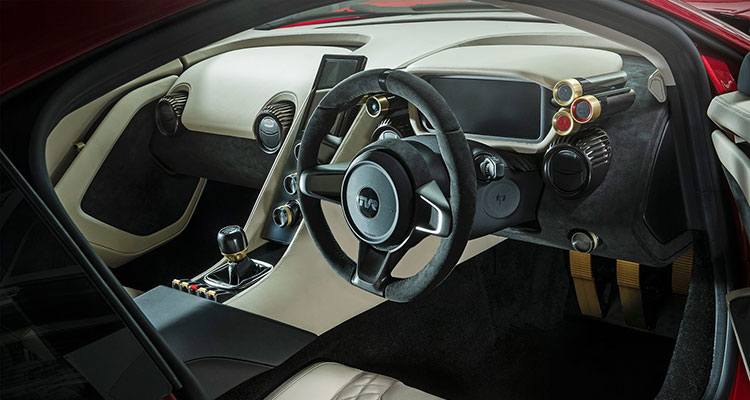 tvr griffith 2019 interior