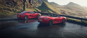 New Porsche 718 Cayman T and 718 Boxster T