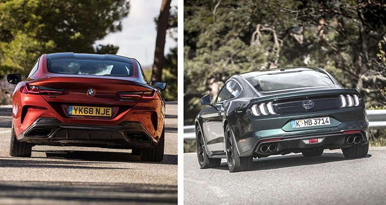 Did the BMW 8 Series Copy The Mustang 2