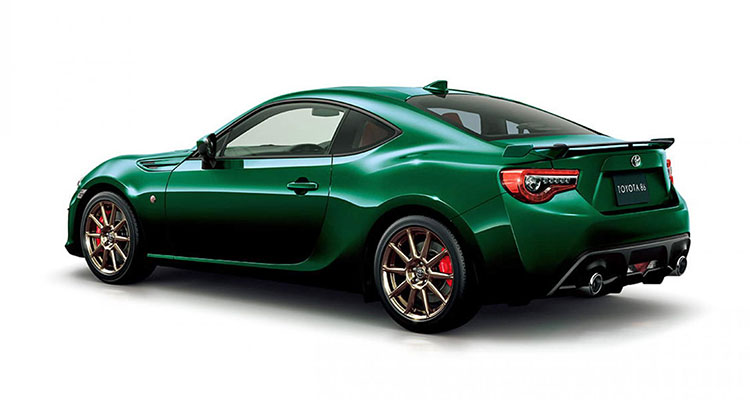 Toyota GT86 British racing green limited edition 1