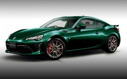 Toyota GT86 British racing green limited edition feature