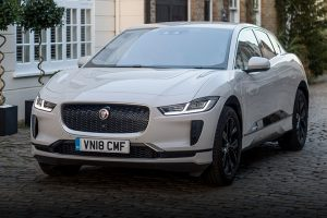 Jaguar I-Pace front feature