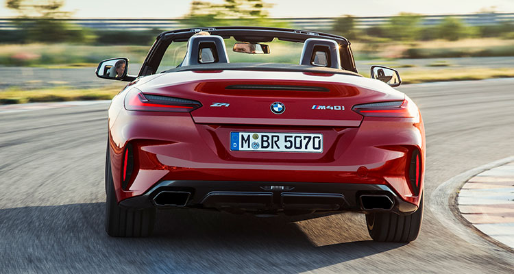 New BMW Z4 rear 1
