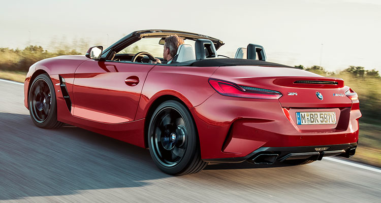 New BMW Z4 side 1