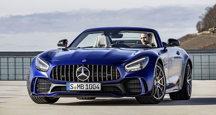 New Mercedes AMG GT R Roadster 1