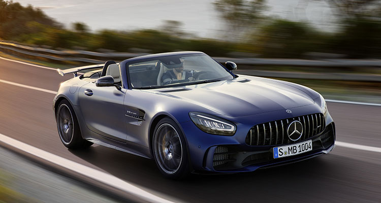 New Mercedes AMG GT R Roadster 4