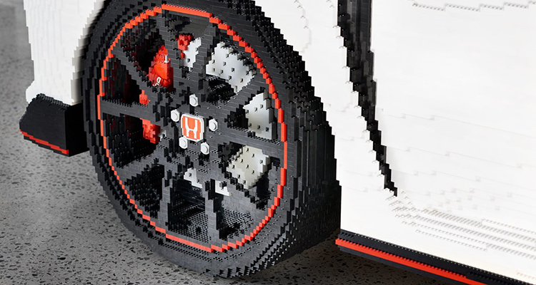 Life-Sized, 100% LEGO Honda Civic Type R 2