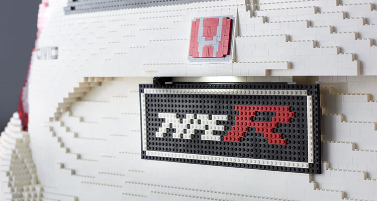Life-Sized, 100% LEGO Honda Civic Type R 4