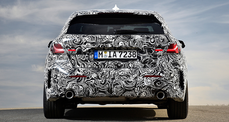 New BMW 1 Series 2020 rear 1