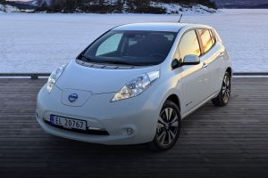 Nissan leaf feature