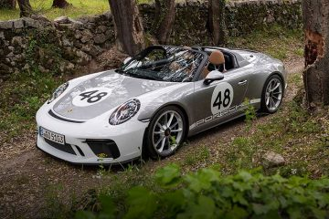 Porsche 911 Speedster 991 2019 (feature)