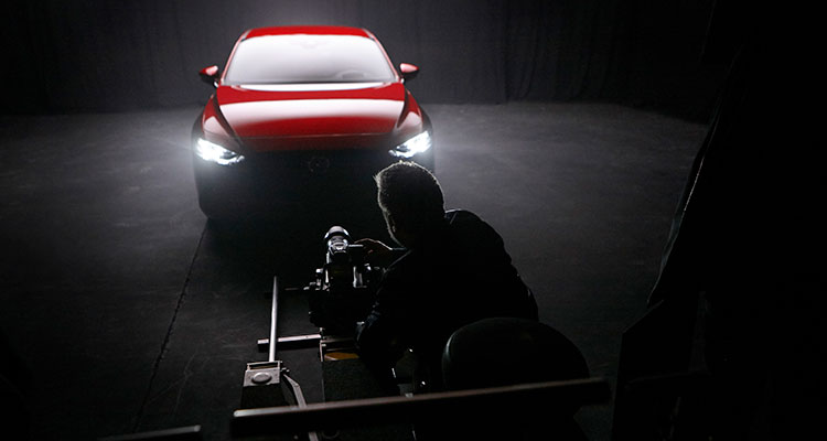 Rankin Mazda3 BTS London shoot (1)