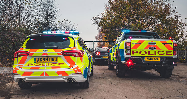 New Police Ford Raptor and Focus ST