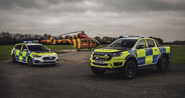New Police Ford Raptor and Focus