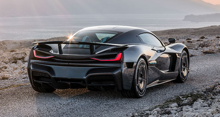 The Rimac C_Two Electric Hypercar