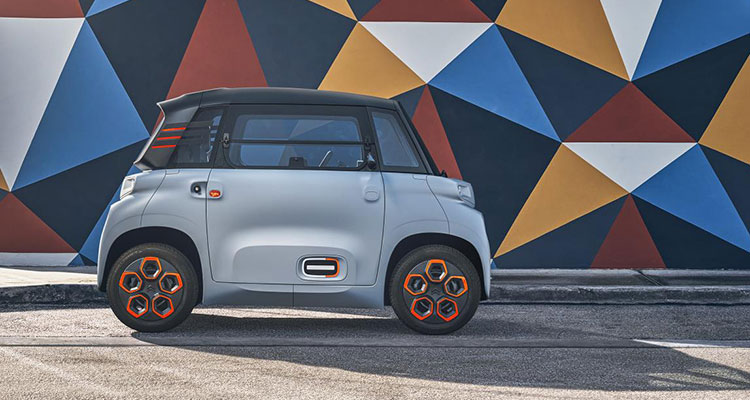 The Citroen Ami Is Somehow A Real Car