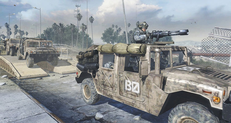 Manufacturers of Humvee Loses Lawsuit Against Call of Duty
