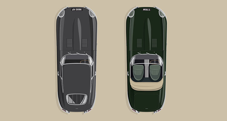 Jaguar Classic E-Type 60th Collection
