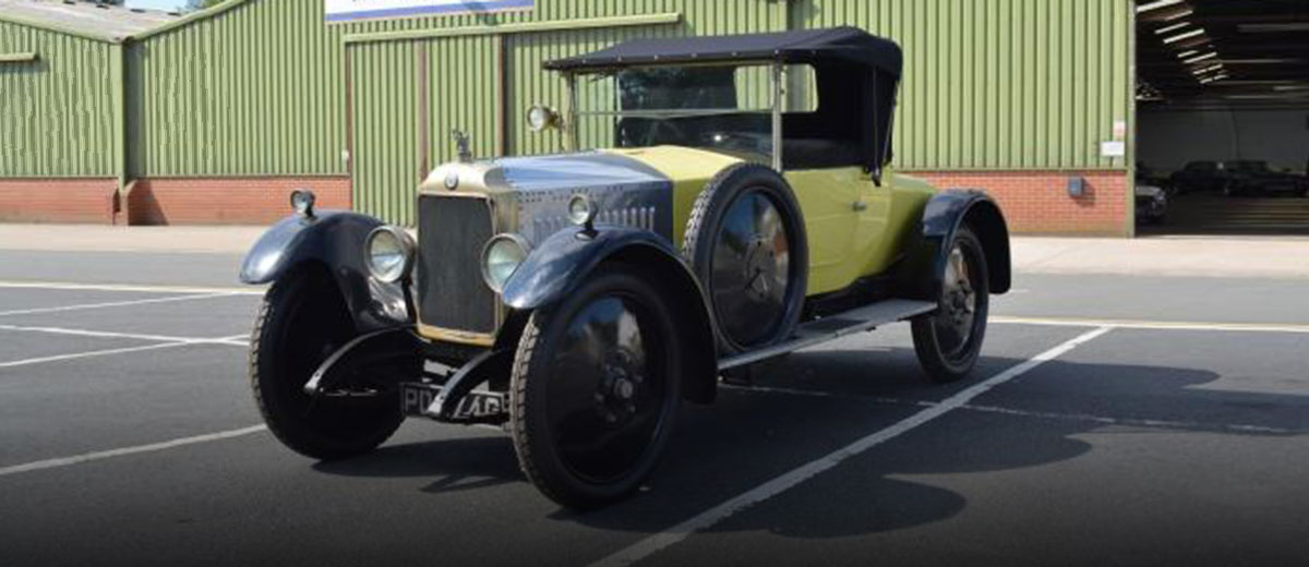 Rare Vauxhall Heritage Vehicles Up For Sale