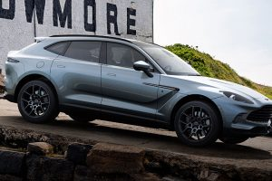 The All-New Aston Martin DBX Bowmore Edition