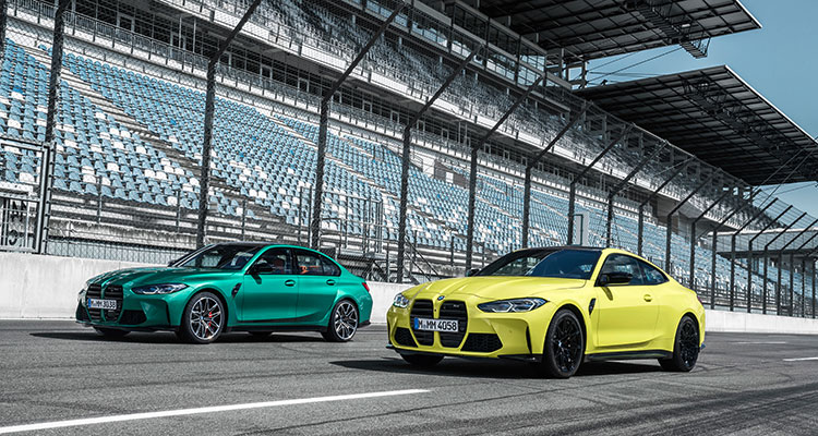 New BMW M3 and M4
