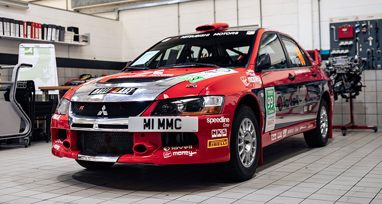 Evo IX Works Rally sold for £61,700