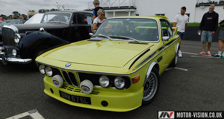 BMW 3.0 CSL right-hand drive